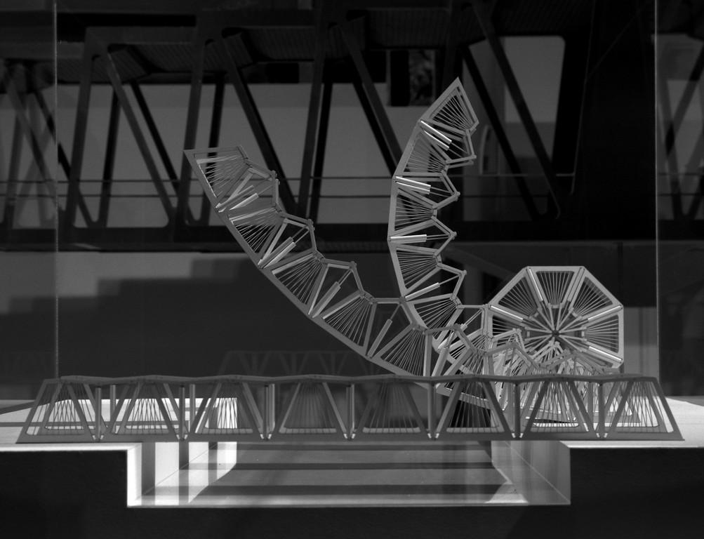 Curling Bridge Model