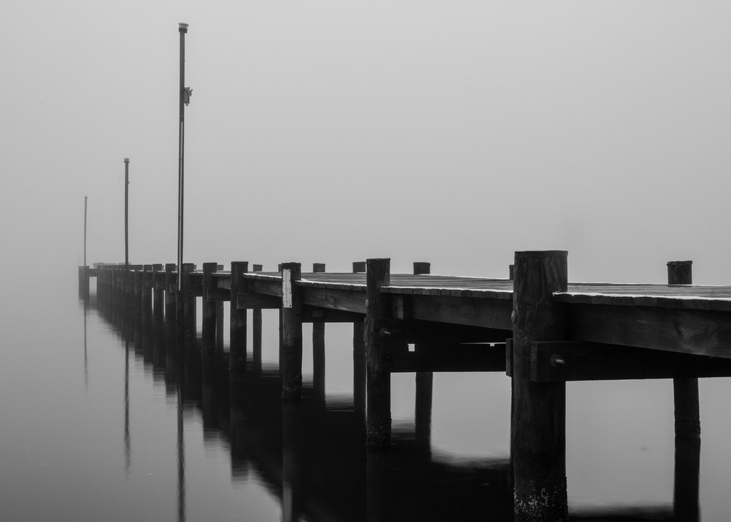 Honorable Mention - Foggy Magothy Morning