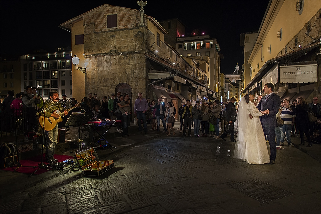 Ponte Vecchio Wedding Dance