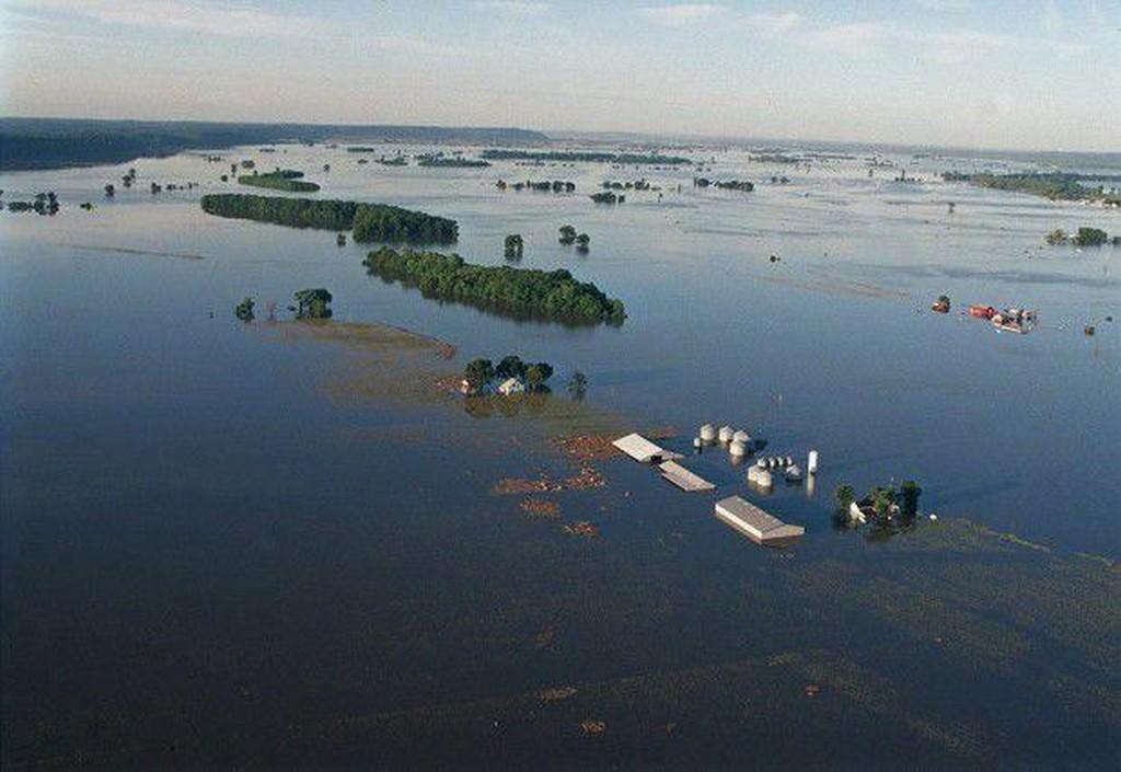 Great Flood - Monroe County, IL.