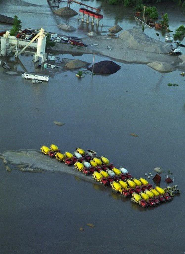 Great Flood - St. Charles, MO.
