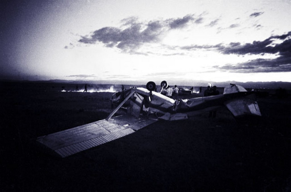 Plane in the Twi-light